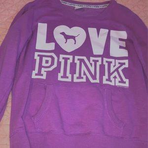 PINK lavender sweatshirt